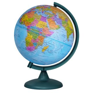 Political globe with a diameter of 250 mm