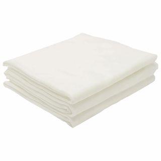 CLEANING / Non-sterile disposable sheets, set of 10 pcs., 140x200 cm, laminated spunbond 42 g / m2, white