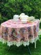 Tablecloth with lace beauty - view 1