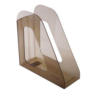 Tray vertical paper of STAMM Favorit (235х240 mm), width 90 mm, tinted brown