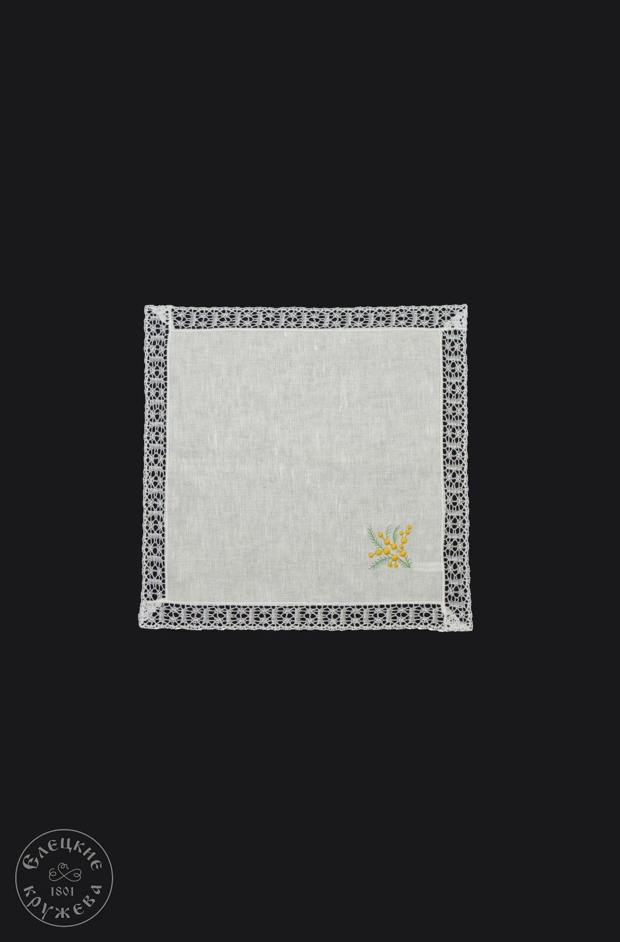 Yelets lace / Linen napkin С2142Ts