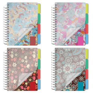 Small FORMAT Notebook (115 x 152 mm) A6, 150 sheets, side crest, plastic cover, 4 dividers, cage, BRAUBERG,