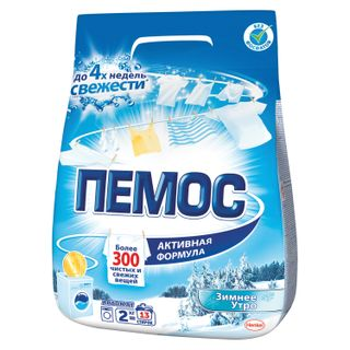 "Automatic washing powder PEMOS ""Winter Morning"" 2 kg"
