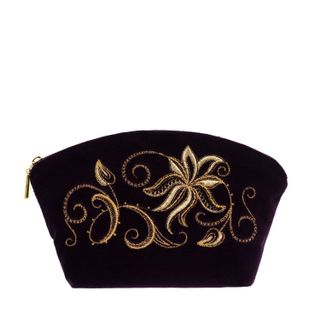 "Velvet cosmetic bag ""Minuet"""