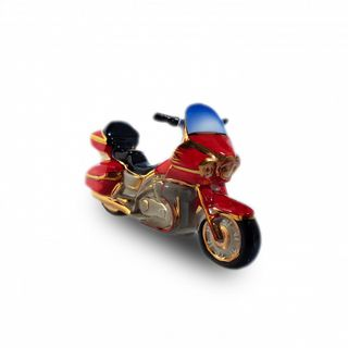 "Christmas tree toy ""Motorcycle red"""