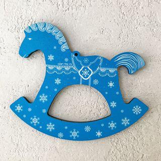 """Christmas tree toy """"Konyashka"""" (art 51)"""