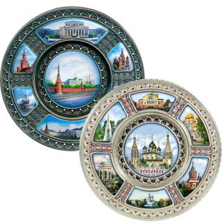 Rostov enamel / Pan-plate