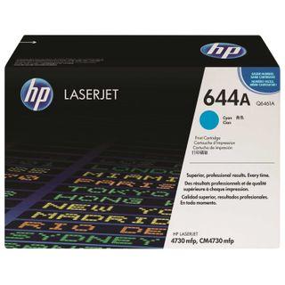 Toner cartridge HP (Q6461A) ColorLaserJet CM4730, cyan, original, yield 12000 pages.
