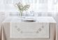 Linen table top - dining path - view 1
