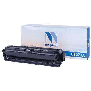 Magenta NV PRINT Toner Cartridge (NV-CE273A) for HP CP5525dn / CP5525n / M750dn / M750n, yield 15,000 pages