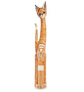 """Wooden statuette """"Cat"""" 100 cm"""