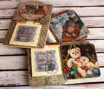 Souvenir fridge magnet with Notepad Bears mix