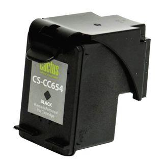 HP Officejet J4580 / 4640/4680 Black Inkjet Cartridge CACTUS (CS-CC654), Yield 700 Pages