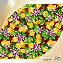 Calico printed No. 622 Lemons