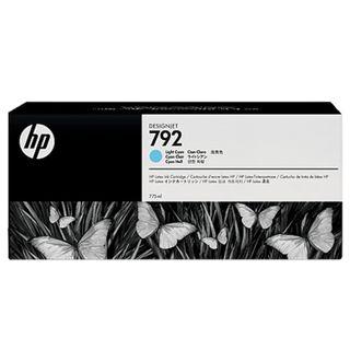 HP (CN709A) DesignJet L26500 # 792 Light Cyan Original Ink Cartridge