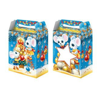 """New Year's gift """"Star"""", a set of chocolates 750g."""