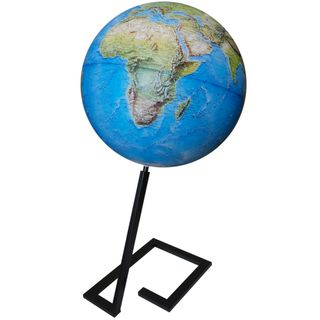 Great physical globe Metal