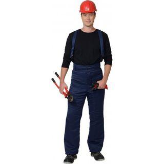 Trousers for men winter universal dark blue