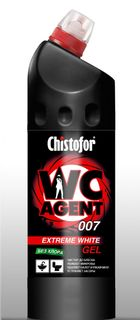 "Cleaner for plumbing CHISTOFOR ""WC Agent 007 EXTREME WHITE GEL"" (sun agent 007 extremely white)"