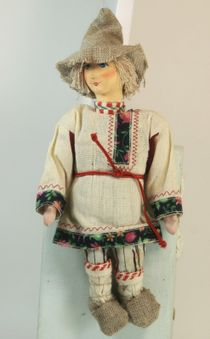 Doll gift. 'The villagers'(ser.1)