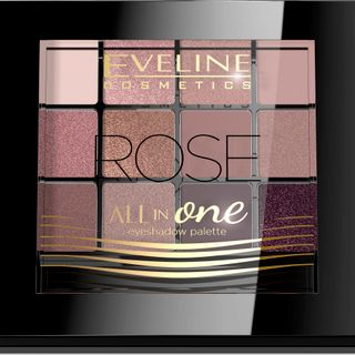 Eyeshadow No. 02-rose series all in one, Eveline, 12 g