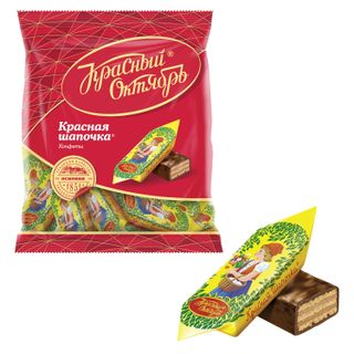 """RED OCTOBER / Chocolate sweets """"Red Riding Hood"""", 250 g, package"""
