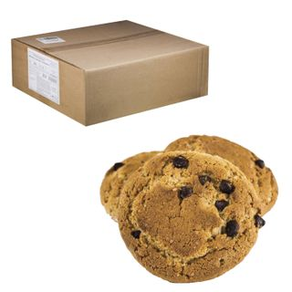 """ORANGE SUN / Oatmeal cookies """"Side-by-side"""" with chocolate pieces, by weight, 6 kg, corrugated box"""