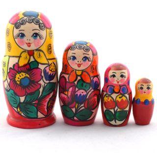 Matryoshka 4 dolls Polkhovsky Maidan