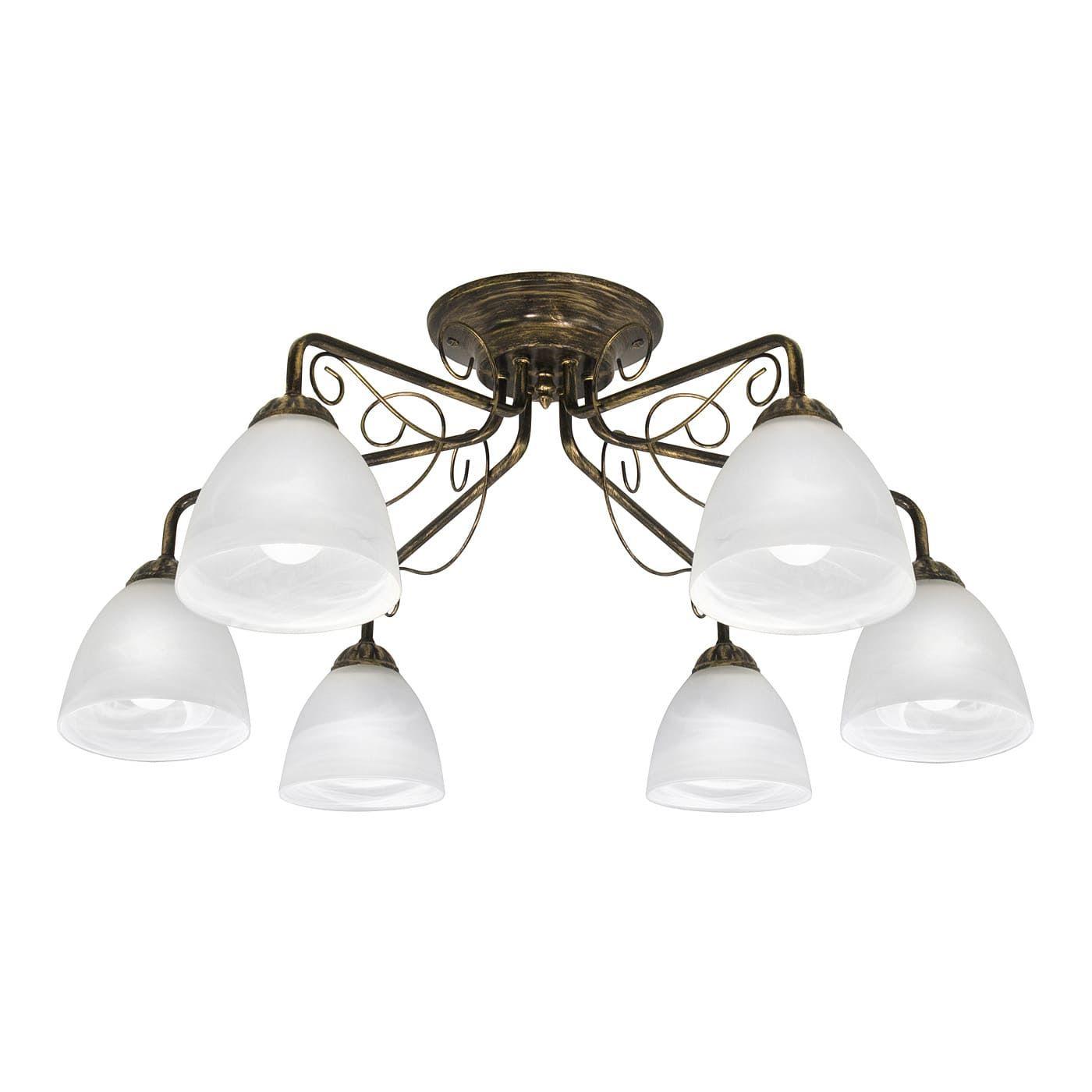 PETRASVET / Ceiling chandelier S2206-6, 6xE27 max. 60W