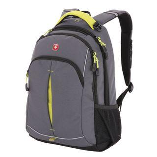 Backpack WENGER universal, gray, reflective elements, 22 l, 32х15х46 cm