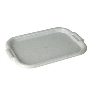IDEA / Universal tray, large, 33x49 cm, marble / white
