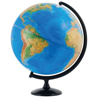 GLOBE WORLD / Physical globe, diameter 420 mm (Russia)