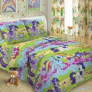 BEDDING SET OF POPLIN