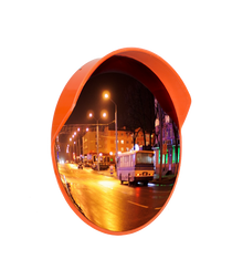 Mirror spherical with a visor ЗС-600