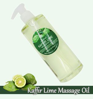 Kaffir lime massage oil