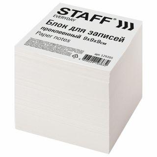 Unit for records STAFF bonded, cube 9х9х9 cm, white, white 70-80%