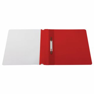 STAFF plastic folder, A4 100/120 µm, red