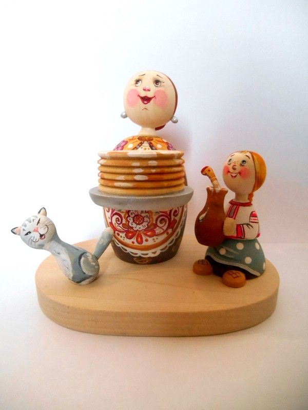 "Tver souvenirs / Composition ""Wide carnival"""