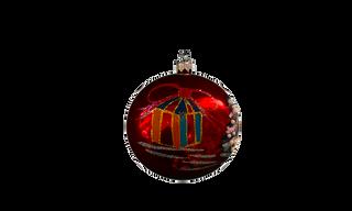 The ball of the Christmas