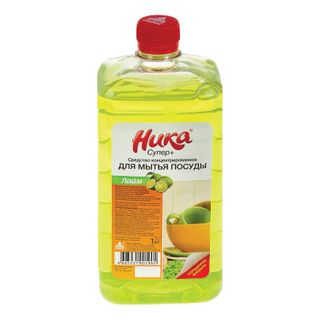 "Dishwashing detergent 1 kg, NIKA ""Super Plus"", concentrate"