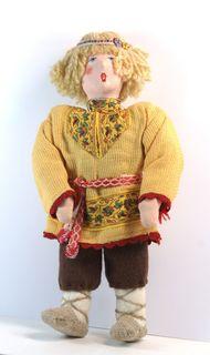 Doll pendant souvenir. LEL. Fairy tale character. Textiles.