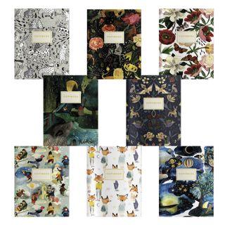 EURO notebook A5 40 sheets BRUNO VISCONTI knitting, line,