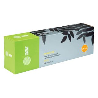 CACTUS Toner Cartridge (CS-WC7120Y) for XEROX WorkCentre 7120/7125, Yellow, 15,000 pages