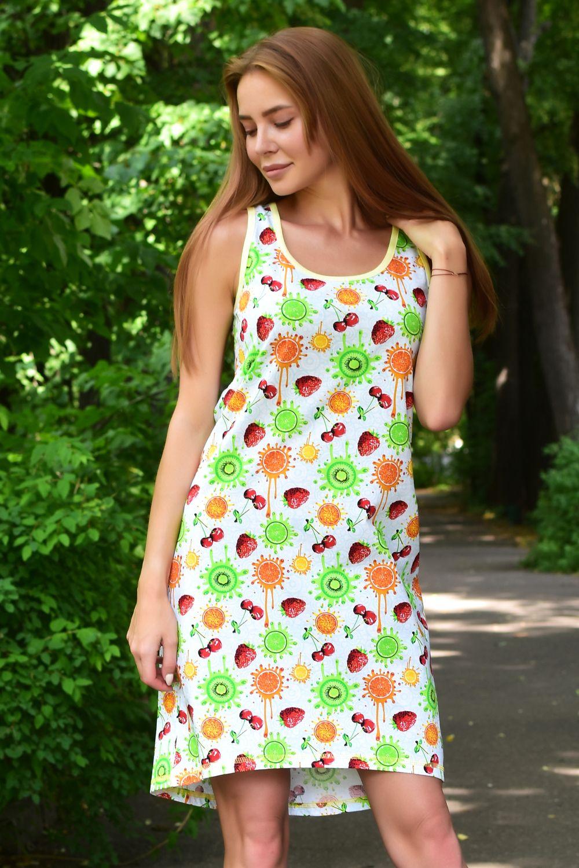 Lika Dress / Home dress Fruit garden Art. 5035
