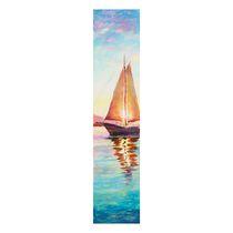 Chocolate painting 'Sailing ship'