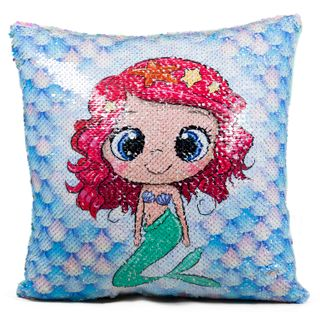 Pillow mermaid sequins