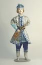 Doll gift porcelain. Prince Guidon. Fairy tale character. - view 1