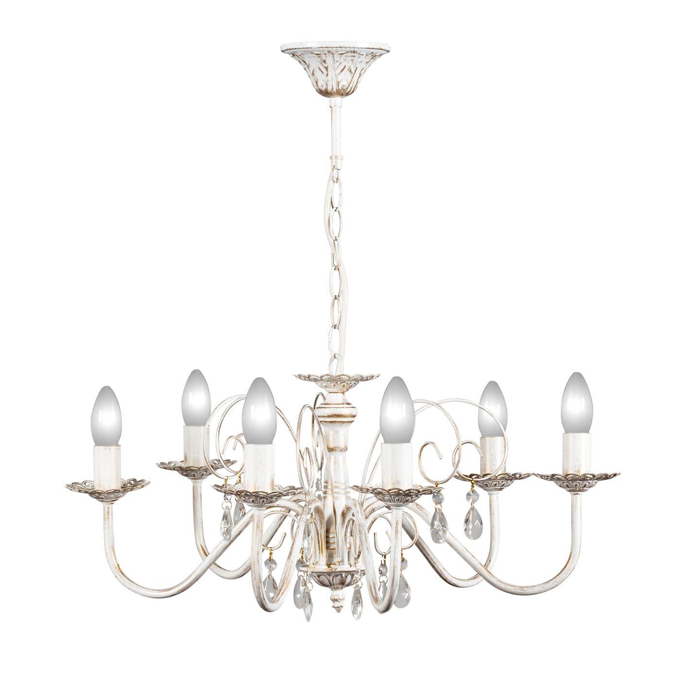 PETRASVET / Pendant chandelier S1018-6, 6xE14 max. 60W