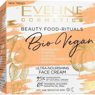 Ultra-nourishing face cream day/night series bio vegan, Eveline, 50 ml