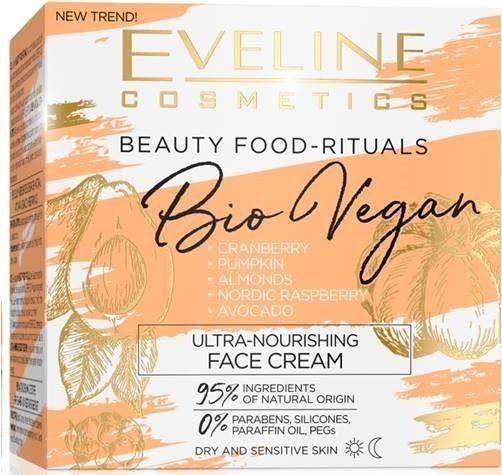 Ultra-nourishing face cream day/night series bio vegan, Eveline, 50 ml